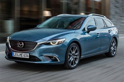 Mazda 6 Wagon 2.2 Skyactive-D/110 kW 4x4 Attraction