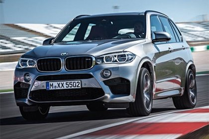 BMW X5 M50d Sériové provedení